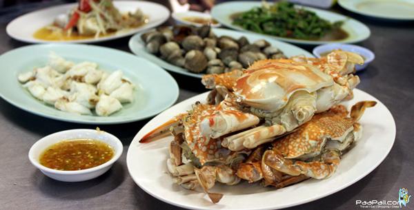 ทริปตะลุยกินหัวหิน ตอน3 อาหารทะเลกับบรรยากาศริมทะเลหัวหิน