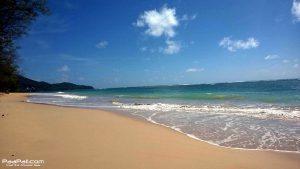 """เดินเล่น """"หาดในยาง"""" หาดส่วนตัวใกล้สนามบินภูเก็ต"""
