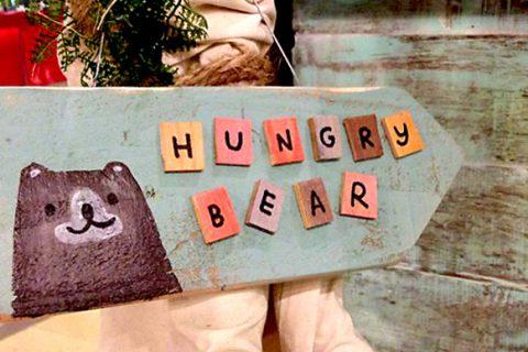 นั่งชิลล์...ที่ Hungry Bear ถูกใจคนรักน้องหมี