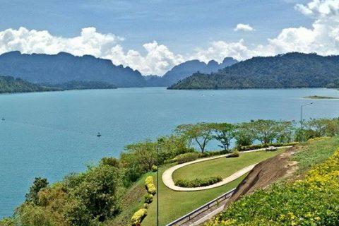 กระโดดน้ำที่ เชี่ยวหลาน - กุ้ยหลินเมืองไทย ณ.แพนางไพร