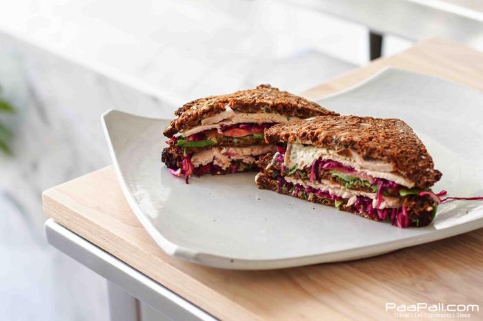 Triple Decker Roast Pork Sandwich