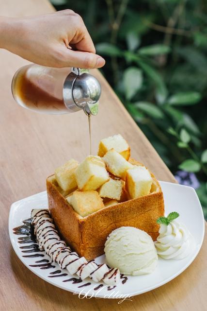 Honey Toast 195 Baht
