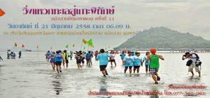 งานวิ่งแหวกทะเลสู่เกาะพิทักษ์ หลังสวนมินิมาราธอน ครั้งที่ 11 ประจำปี 2558