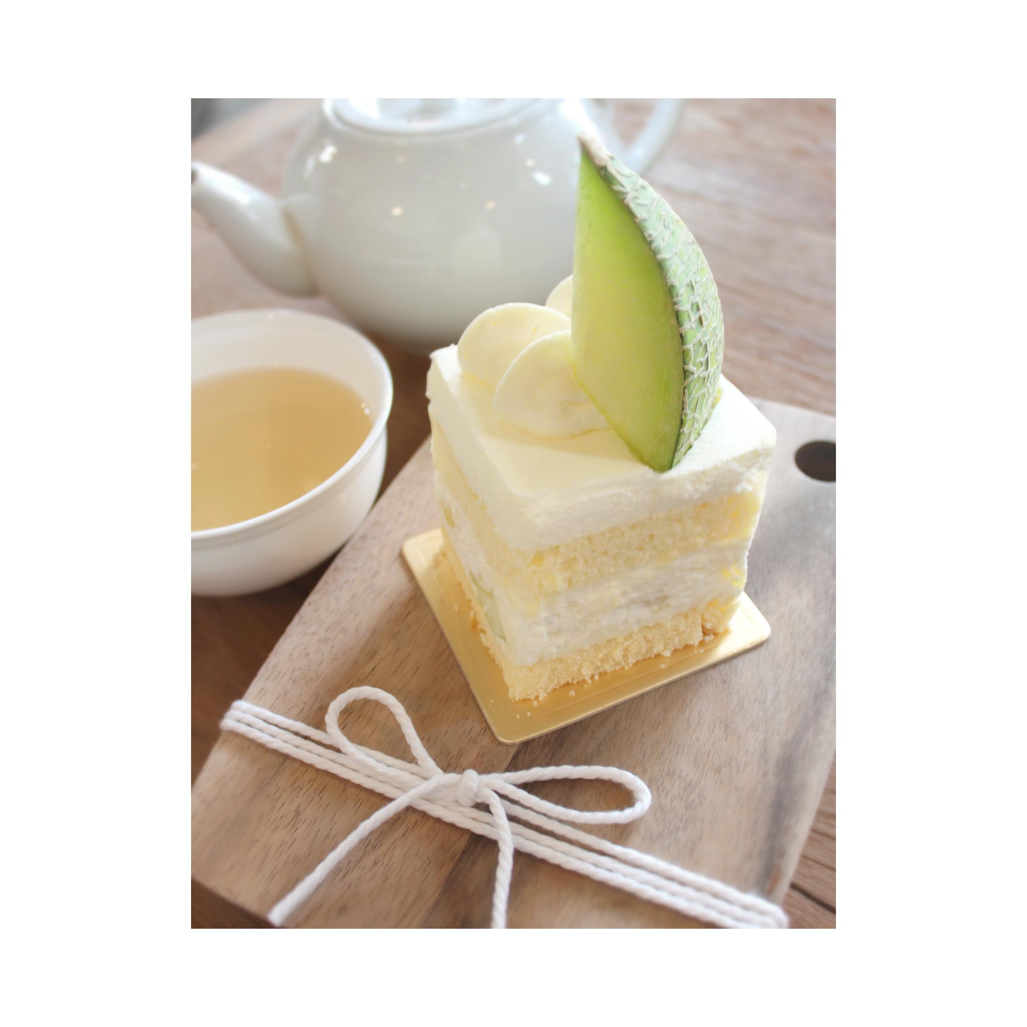Japanese melon short cake