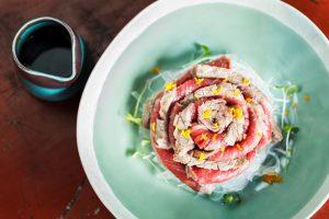 คอม-บา-วะ (Kom-Ba-Wa) อาหารญี่ปุ่นในบรรยากาศแบบศิลปะประยุกต์