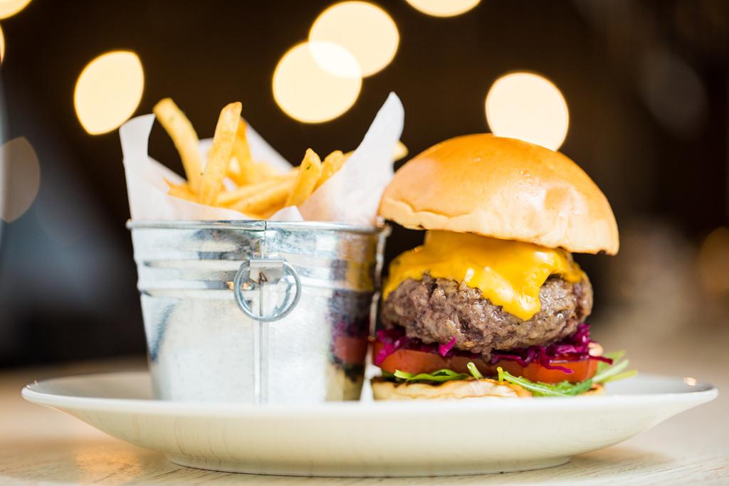 Wagyu Beef Burger 1