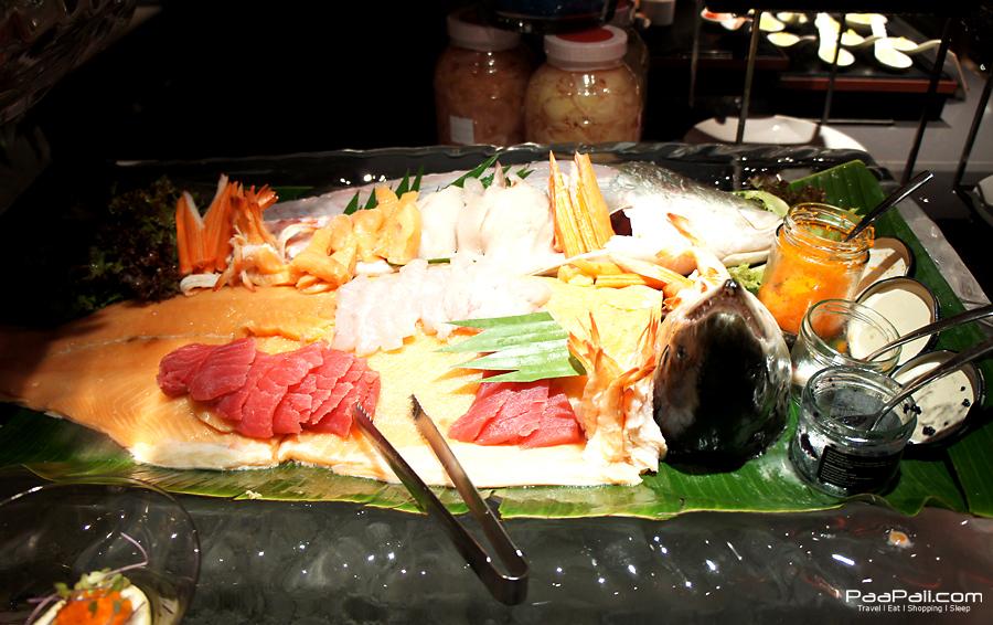 """Tokyo Night บุฟเฟ่ต์อาหารญี่ปุ่นที่ห้องอาหาร """"เดอะสแควร์"""""""
