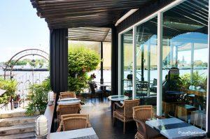 จิบชา ชมวิว ชิลล์ ริมน้ำ @ร้าน Vivi The Coffee Place