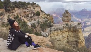 """ตามรอย """"ก้อย รัชวิน"""" เที่ยวฟินๆ ที่ Grand Canyon"""