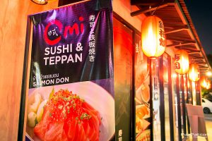 Omi Sushi&Teppan ร้านอาหารญี่ปุ่นเล็กๆ แต่รสชาติพรีเมี่ยม