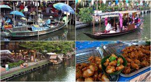 พาเที่ยว 9 ตลาดน้ำ..ทั่วไทยของอร่อยเพียบ