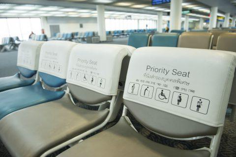 """ทำความรู้จัก """"Priority Seat"""" เก้าอี้ตัวนี้..ไม่ใช่ใครก็นั่งได้"""