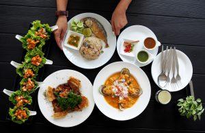 A Little While ร้านอาหารไทยฟิวชั่นกลางป่ากรุงเทพ