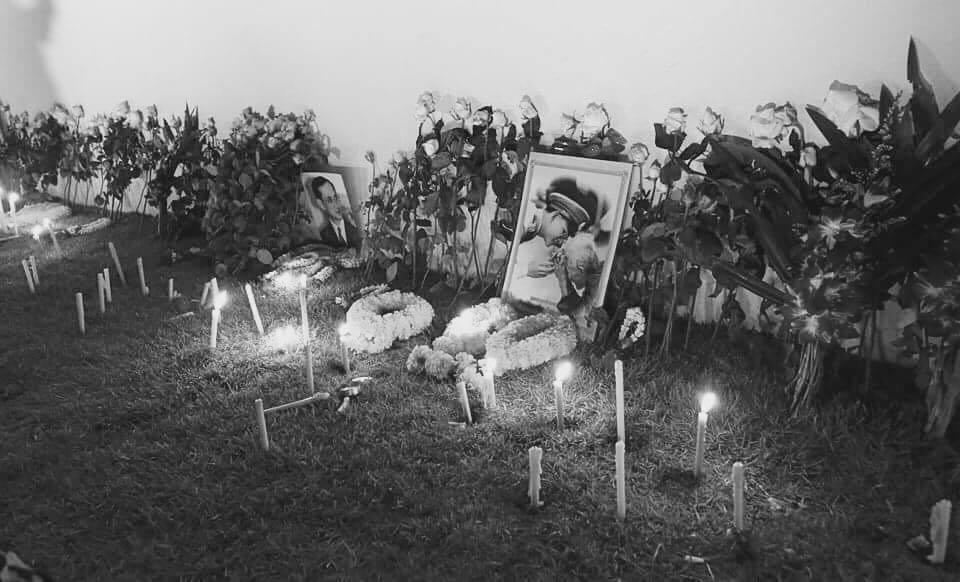 ภาพขบวนเคลื่อนพระบรมศพ พระบาทสมเด็จพระปรมินทรมหาภูมิพลอดุลยเดช