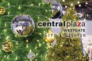 ชวนเที่ยวงาน CentralPlaza Westgate Gift and Lighten ตระการตาไฟประดับส่งท้ายปี