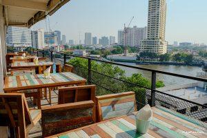 """ชมวิวแม่น้ำเจ้าพระยา 180 องศา บนร้านอาหารสไตล์ Rooftop ที่ """"River Vibe Restaurant & Bar"""""""
