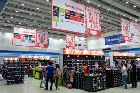 พาไปช้อปงาน Sports World Mega Sale 2017 สินค้ากีฬา ลดราคาเพียบ @Terminal21 โคราช
