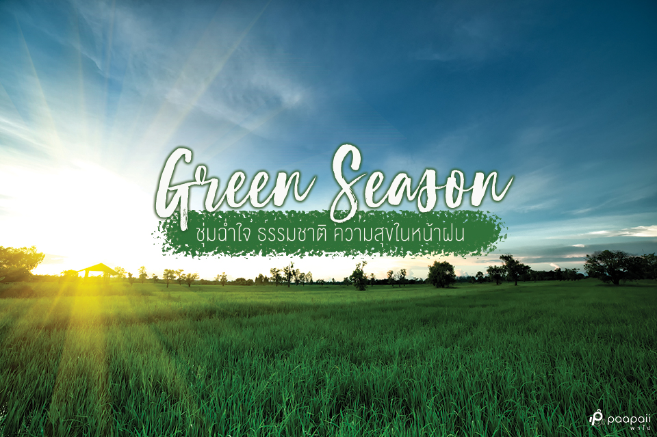 """รวม 8 สถานที่เที่ยวต้อนรับ """"ฤดูกาลแห่งสีเขียว"""" ไปค้นหาความสุขในวันฝนพรำกัน"""