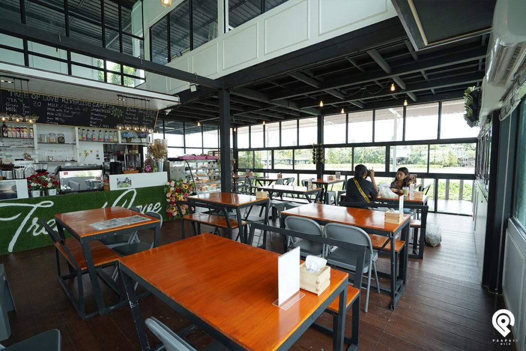 """พาไปผ่อนคลาย สบายอารมณ์ ที่คาเฟ่ริมน้ำ """"Tree of Love Riverside cafe"""" @นครปฐม"""