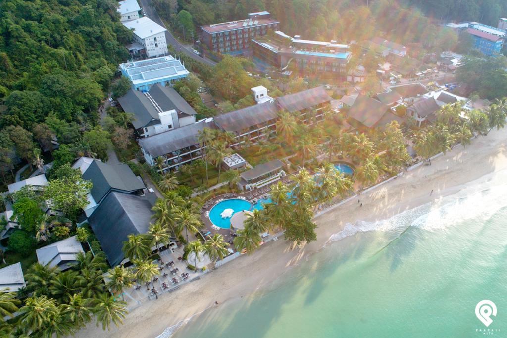 ผ่อนคลายบนหาดทรายขาว @ KC Grand Resort & Spa