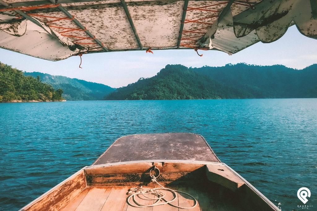 """""""เขื่อนขุนด่านปราการชล"""" ล่องเรือ เที่ยวน้ำตก ชมธรรมชาติ"""
